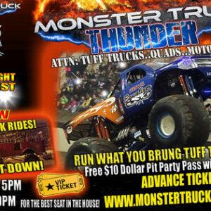 Pertunjukan truk monster