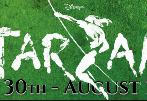 Tarzanas uraganų teatre