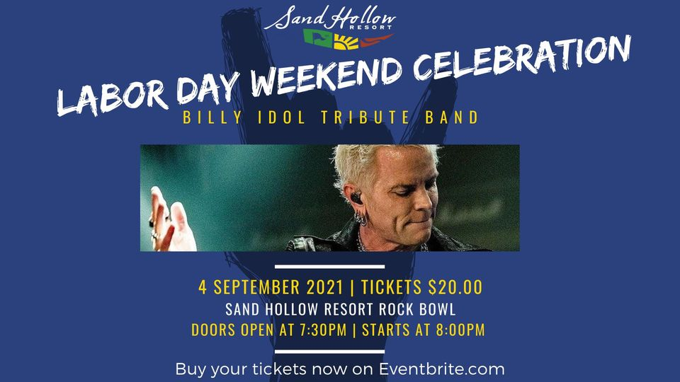 billy idol concert september