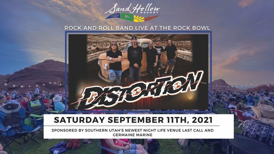 distortion concert