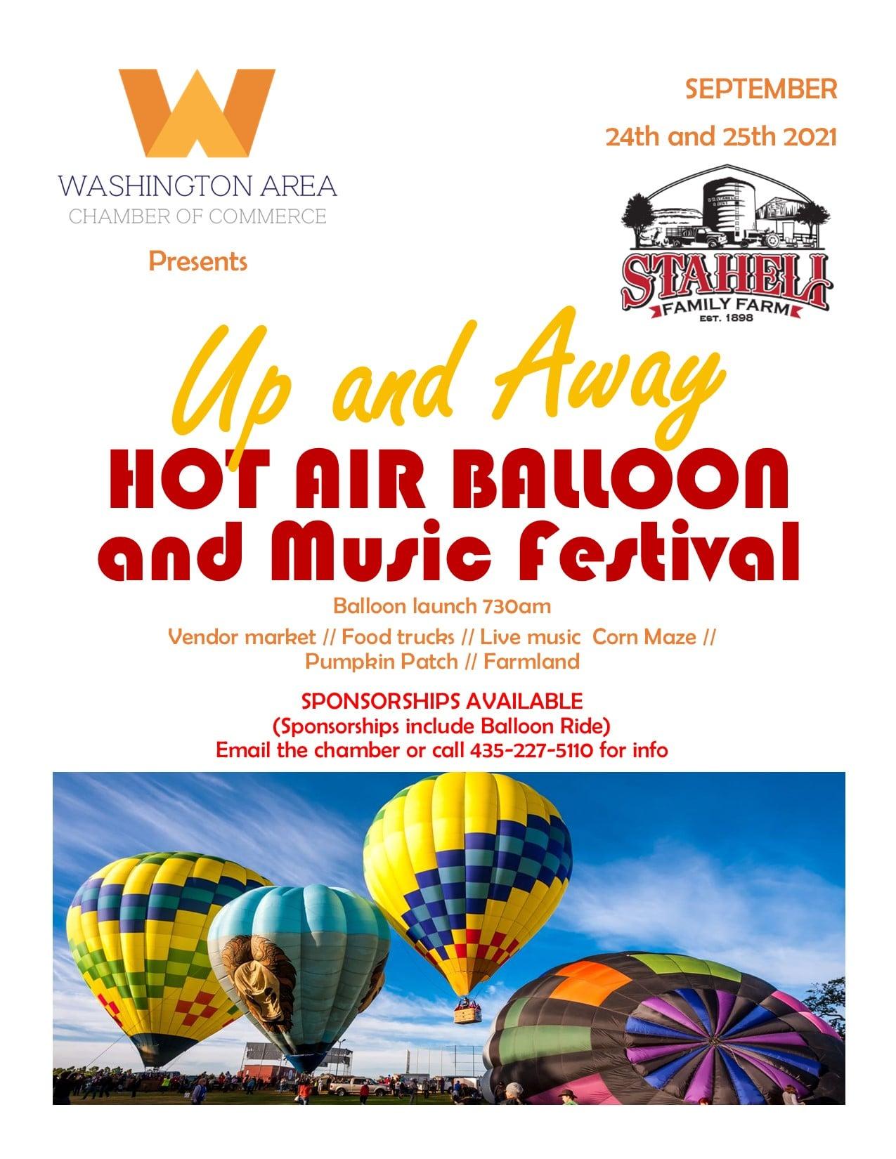 washington city hot air balloon