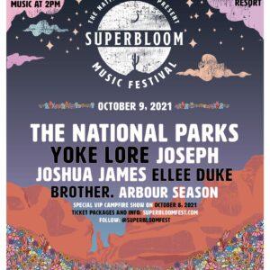 superbloom muzikos festivalis
